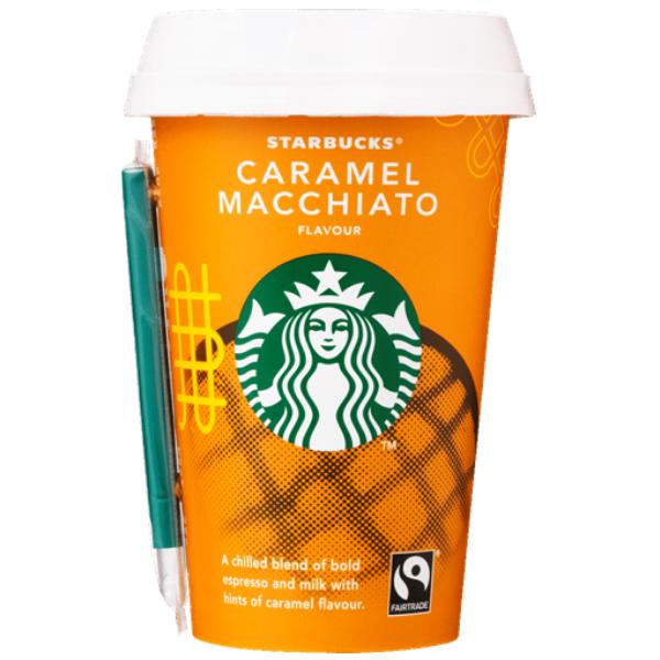 Kalorier i Starbucks Caramel Macchiato Flavour [Kaffe med