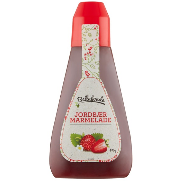 Kalorier i Bellafonde Jordbærmarmelade