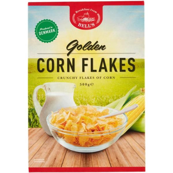 Kalorier i Bell's Golden Corn Flakes
