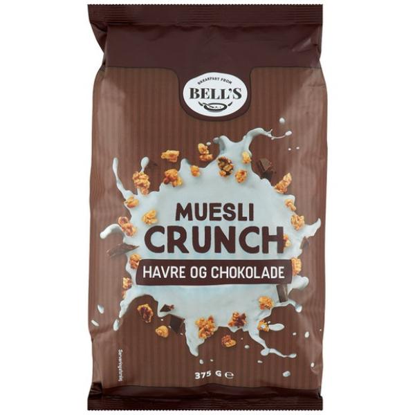 Kalorier i Bell's Muesli Crunch Havre og Chokolade