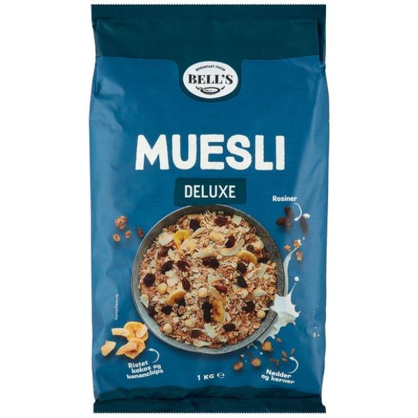 Kalorier i Bell's Muesli Deluxe