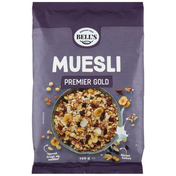 Kalorier i Bell's Muesli Premier Gold
