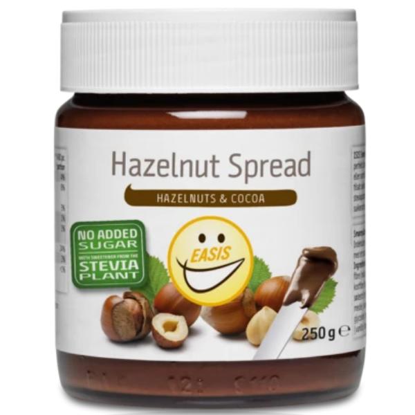 Kalorier i Easis Hazelnut Spread Hazelnuts & Cocoa