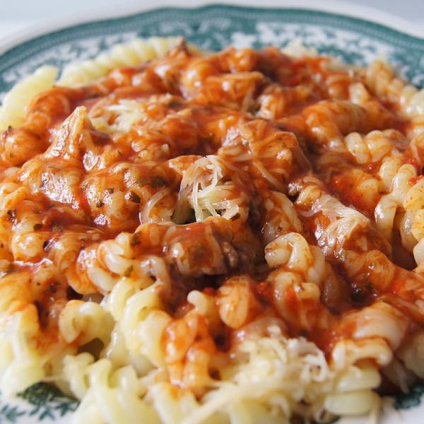Beregn kalorier i kogt pasta