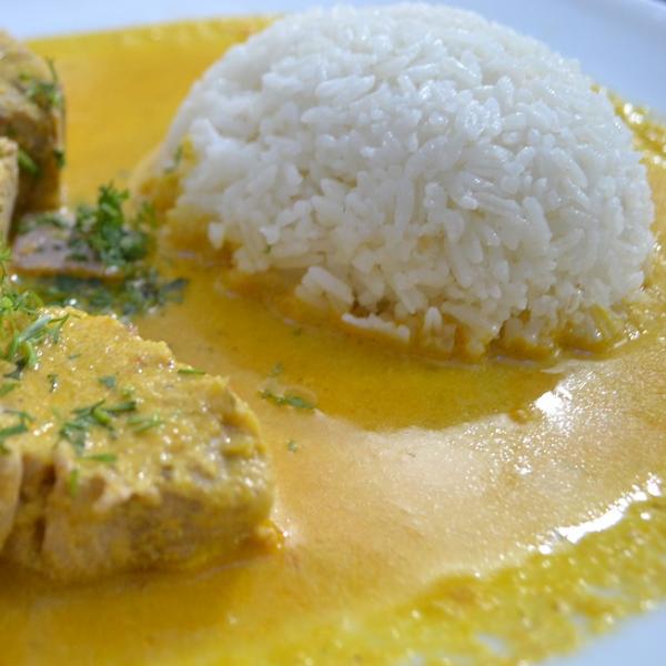 Kalorier i kogte, hvide ris