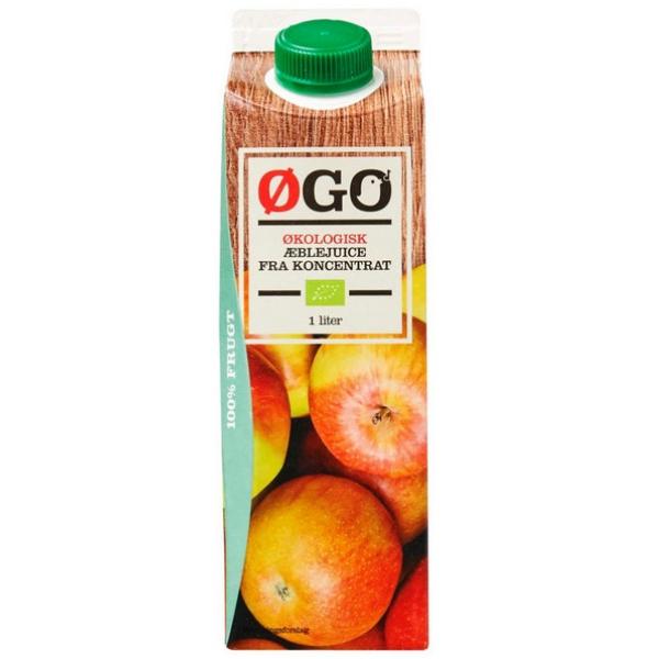 Kalorier i Øgo Økologisk Æblejuice fra Koncentrat
