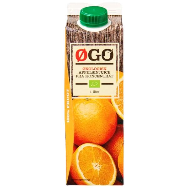 Kalorier i Øgo Økologisk Appelsinjuice fra Koncentrat