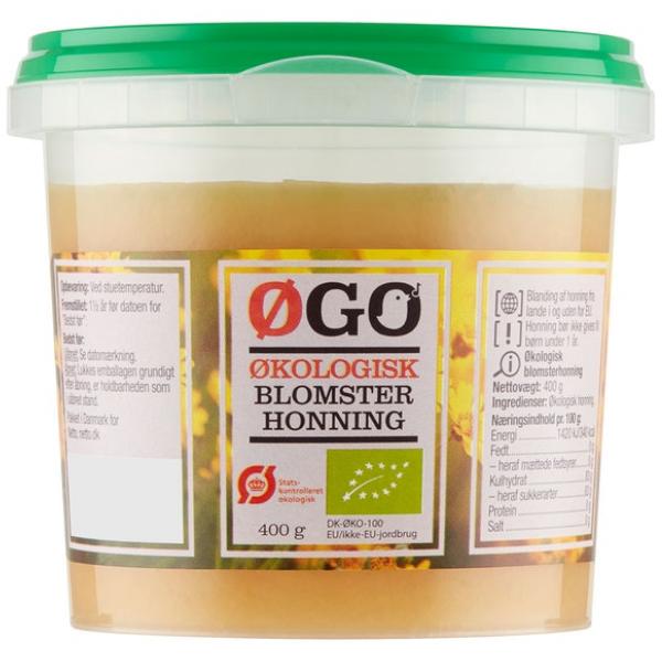 Kalorier i Øgo Økologisk Honning
