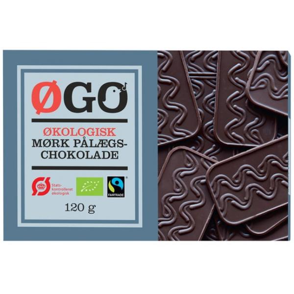 Kalorier i Øgo Økologisk Mørk Pålægschokolade