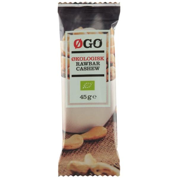 Kalorier i Øgo Økologisk Rawbar Cashew