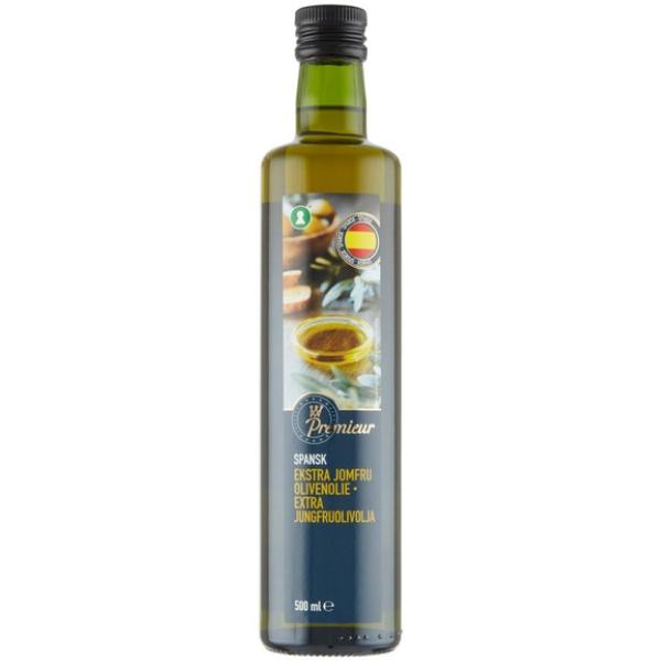 Kalorier i Premieur Spansk Ekstra Jomfru Olivenolie