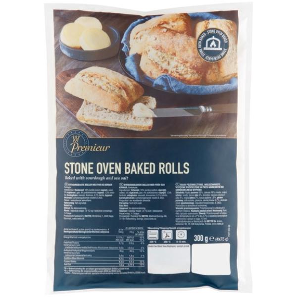 Kalorier i Premieur Stone Oven Baked Rolls