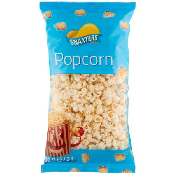 Kalorier i Snaxters Popcorn