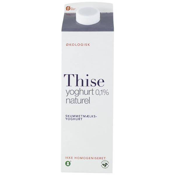 Kalorier i Thise Yoghurt 0,1% Naturel Skummetmælksyoghurt