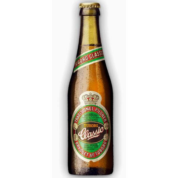 Kalorier i Tuborg Classic Traditionel Pilsner