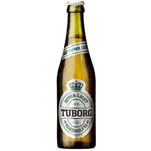 Kalorier i Tuborg Super Light Alkoholfri