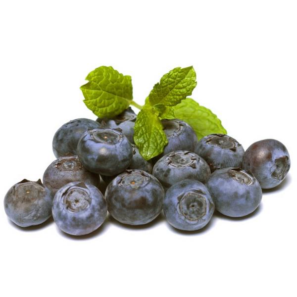 Kalorier i Blåbær