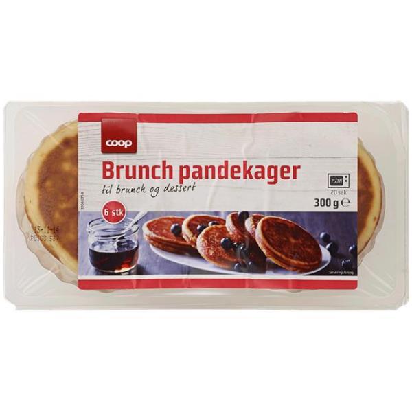 Kalorier i Coop Brunch Pandekager til Brunch og Dessert