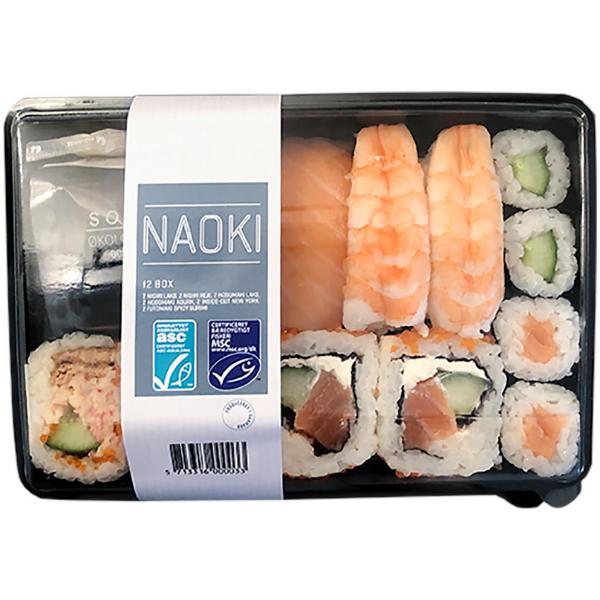 Kalorier i Naoki 12 Box