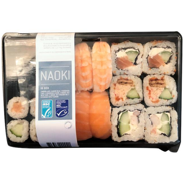 Kalorier i Naoki 16 Box