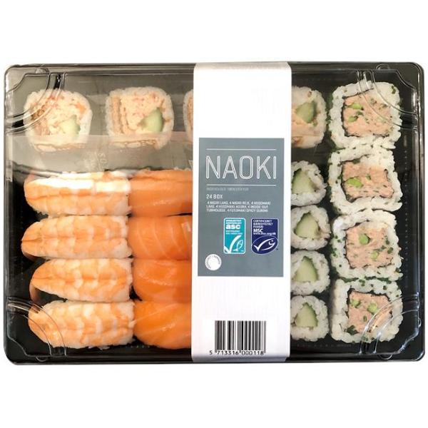 Kalorier i Naoki 24 Box