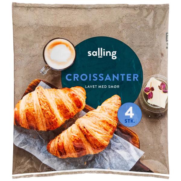 Kalorier i Salling Croissanter Lavet med Smør