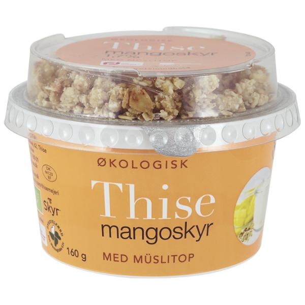 Kalorier i Thise Mangoskyr med Müslitop