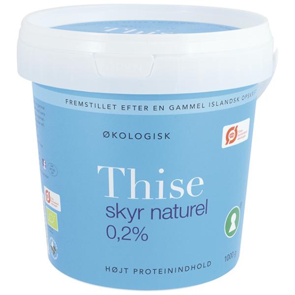 Kalorier i Thise Skyr Naturel 0,2%