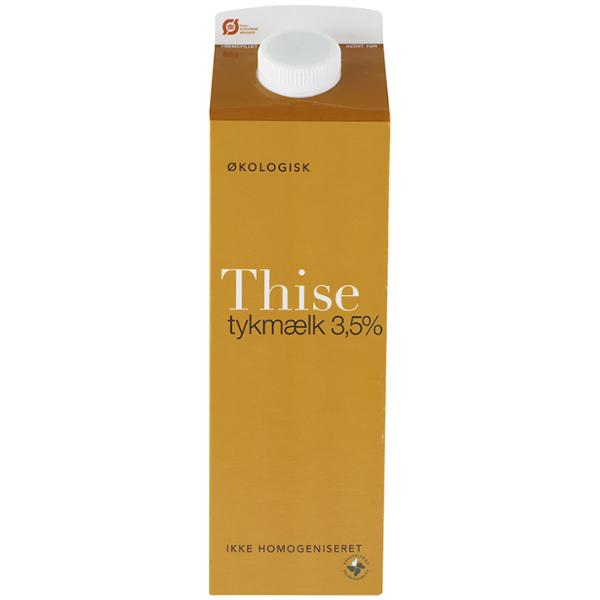 Kalorier i Thise Tykmælk 3,5%