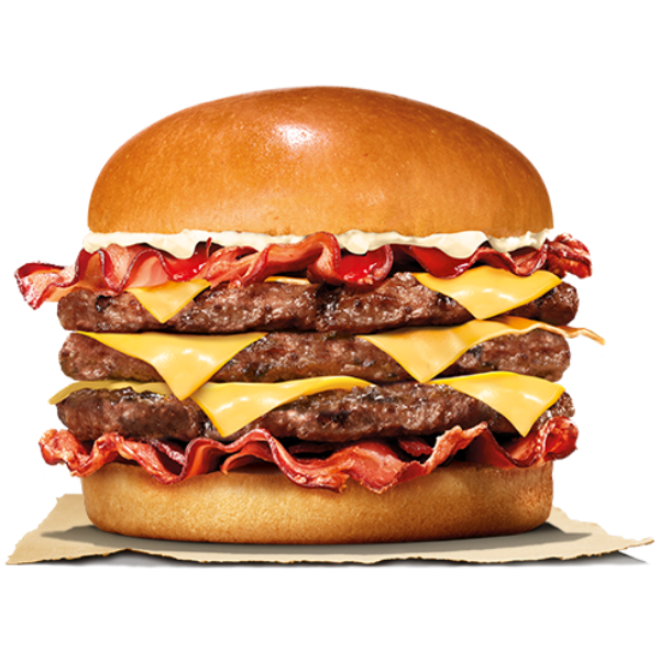 Kalorier i Burger King Bacon King 3.0