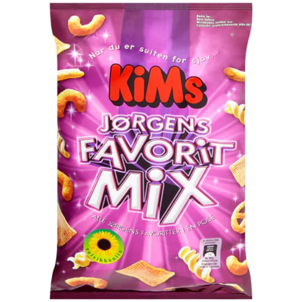 Kalorier i KiMs Jørgens Favorit Mix