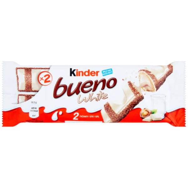 Kalorier i Kinder Bueno White
