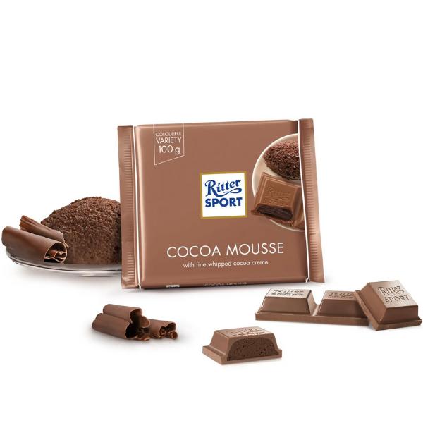 Kalorier i Ritter Sport Cocoa Mousse