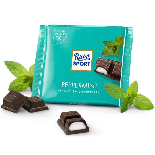 Kalorier i Ritter Sport Peppermint